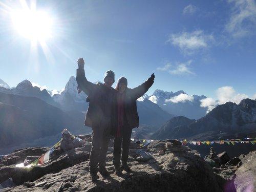 Everest from Gokyo Trek- Kay Collins